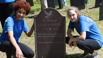 Local News - Former Slave Buried In Andover Gets Headstone Thanks To Students