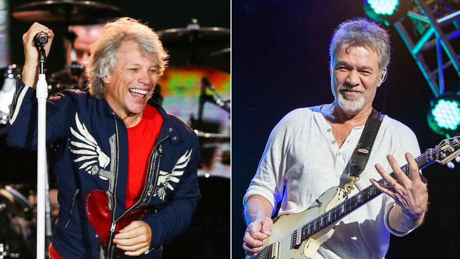 Jon Bon Jovi Honors Eddie Van Halen: 'He Was An Innovator'