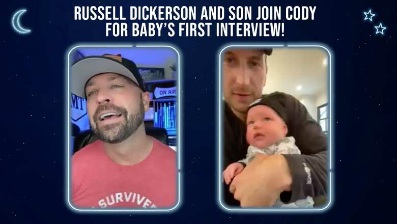 Russell Dickerson's Baby Makes On Screen Debut With Cody Alan