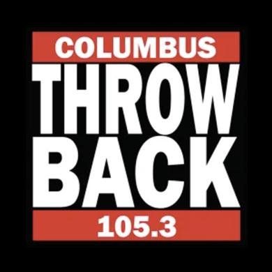 Throwback 105.3 logo