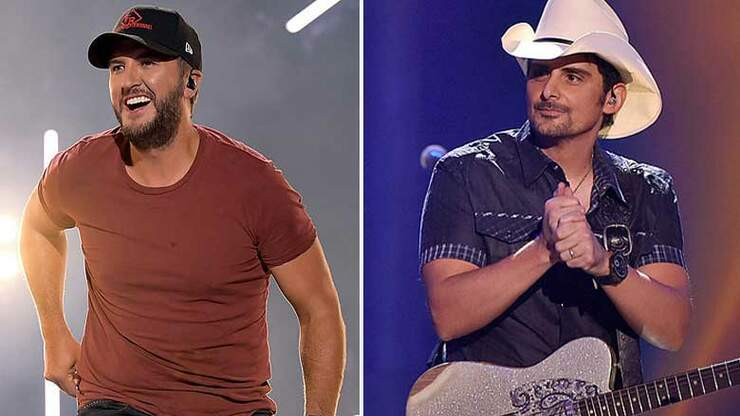 Luke Bryan + Brad Paisley Team Up For Rock and Roll Hall Of Fame Induction