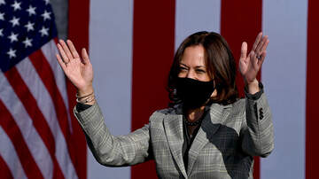 image for Kamala Harris Halts Travel After Two Staffers Test Positive For COVID
