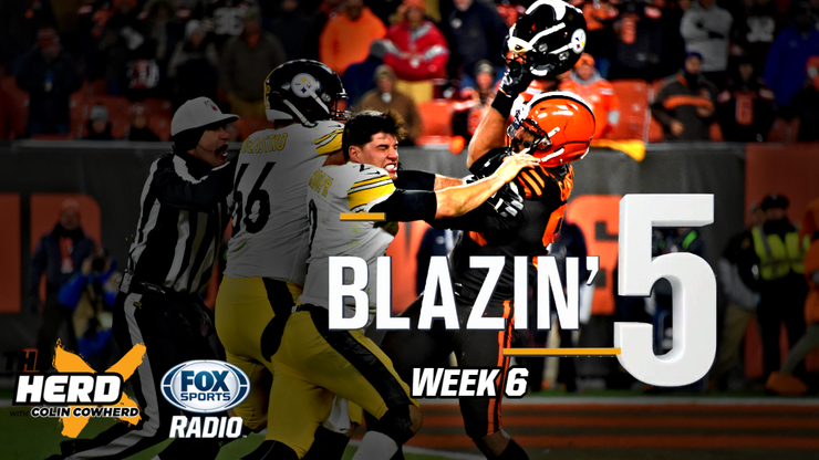 Blazing Five: Colin Cowherd Gives His 5 Best NFL Bets For Week 6 (Oct. 18)