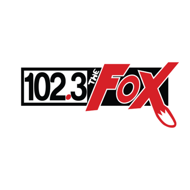 102.3 The Fox logo