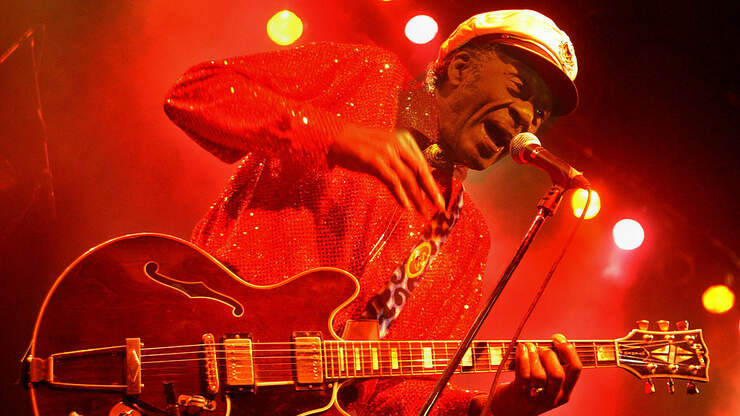 Chuck Berry Gives us the First Christmas Song and Vid of the Year!