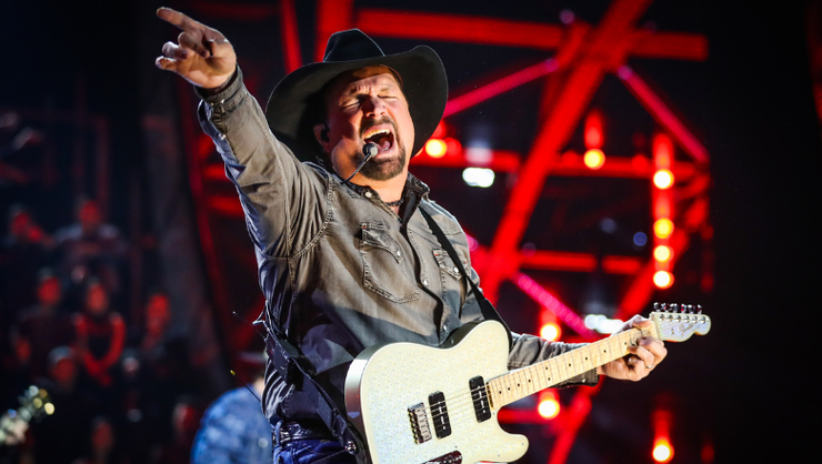 Garth Brooks Announces Release Date For 'Fun' And 'Triple Live Deluxe'