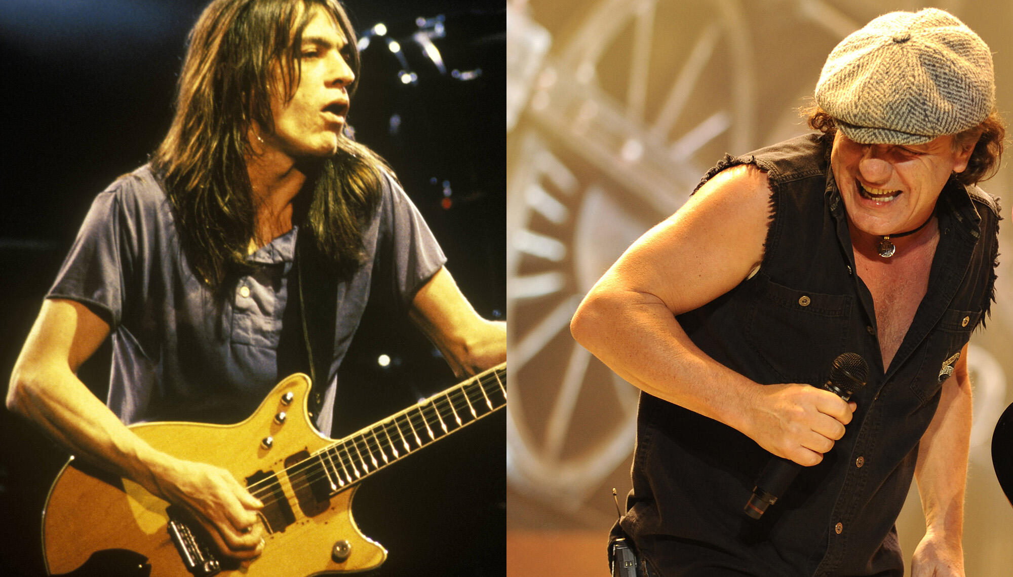 Brian Johnson Made Malcolm Young Call Him Twice To Offer Him The AC/DC Job