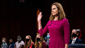 image for Amy Coney Barrett Supreme Court Nomination Moves To The Full Senate
