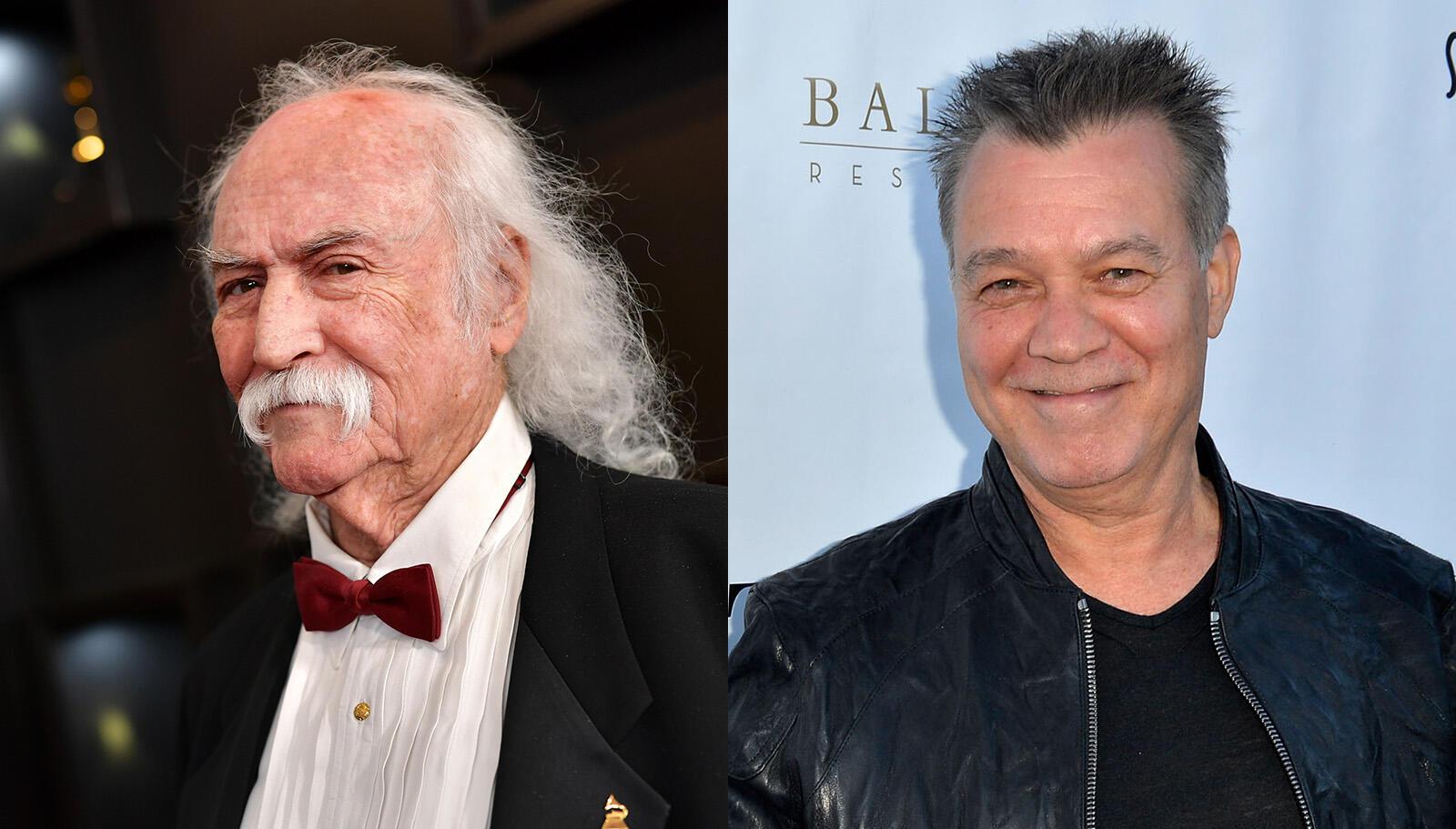 David Crosby Fully Retracts Comments Dismissive Of Eddie Van Halen's Legacy