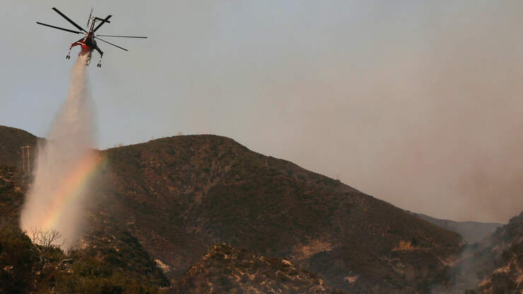 Bobcat Fire Now at 95% Containment