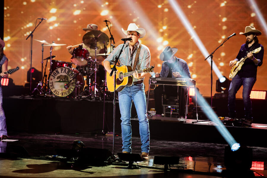 Jon Pardi Performs 'Ain't Always The Cowboy' at iHeartCountry Festival