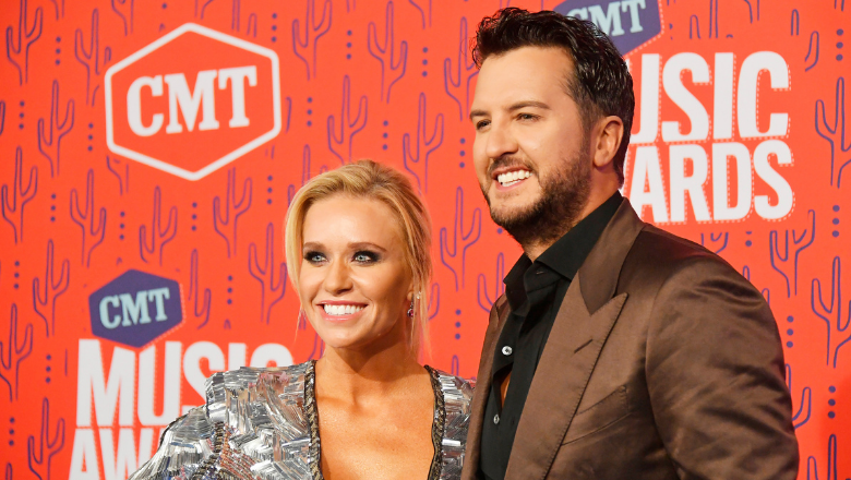 Luke Bryan's Wife Caroline Shows Off Hilarious Inflatable Eggplant Costume