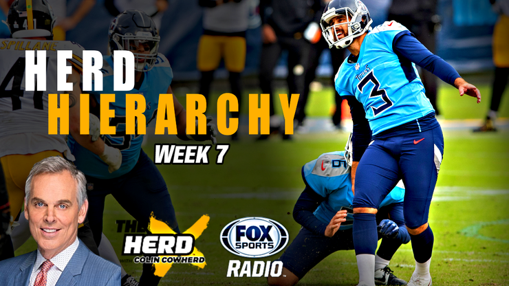 Herd Hierarchy: Colin Cowherd Ranks the 10 Best NFL Teams After Week 7