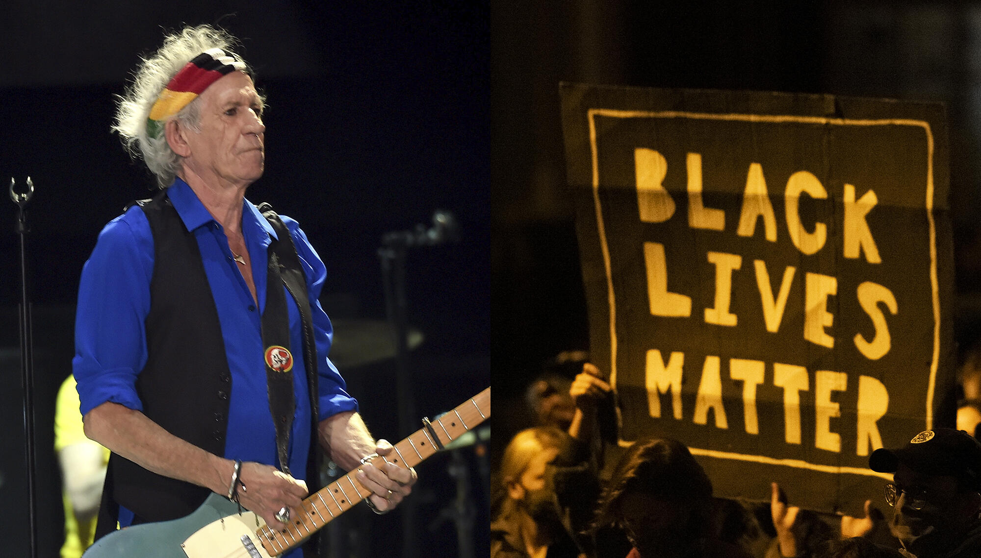 Keith Richards Applauds Black Lives Matter: 'It's About Bloody Time'