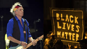 image for Keith Richards Applauds Black Lives Matter: 'It's About Bloody Time'