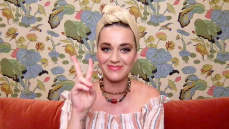 Katy Perry Finds Another Use For Her Mask!  | KOST 103.5 | Kari Steele