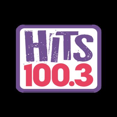 HITS 100.3 logo