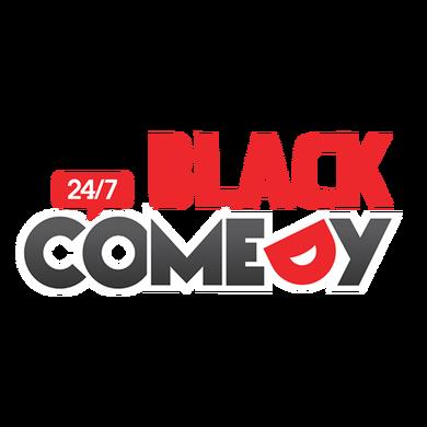 24/7 Black Comedy logo
