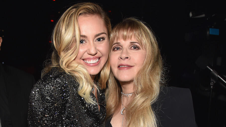 Miley Cyrus Taps Stevie Nicks For 'Edge Of Midnight (Midnight Sky Remix)'