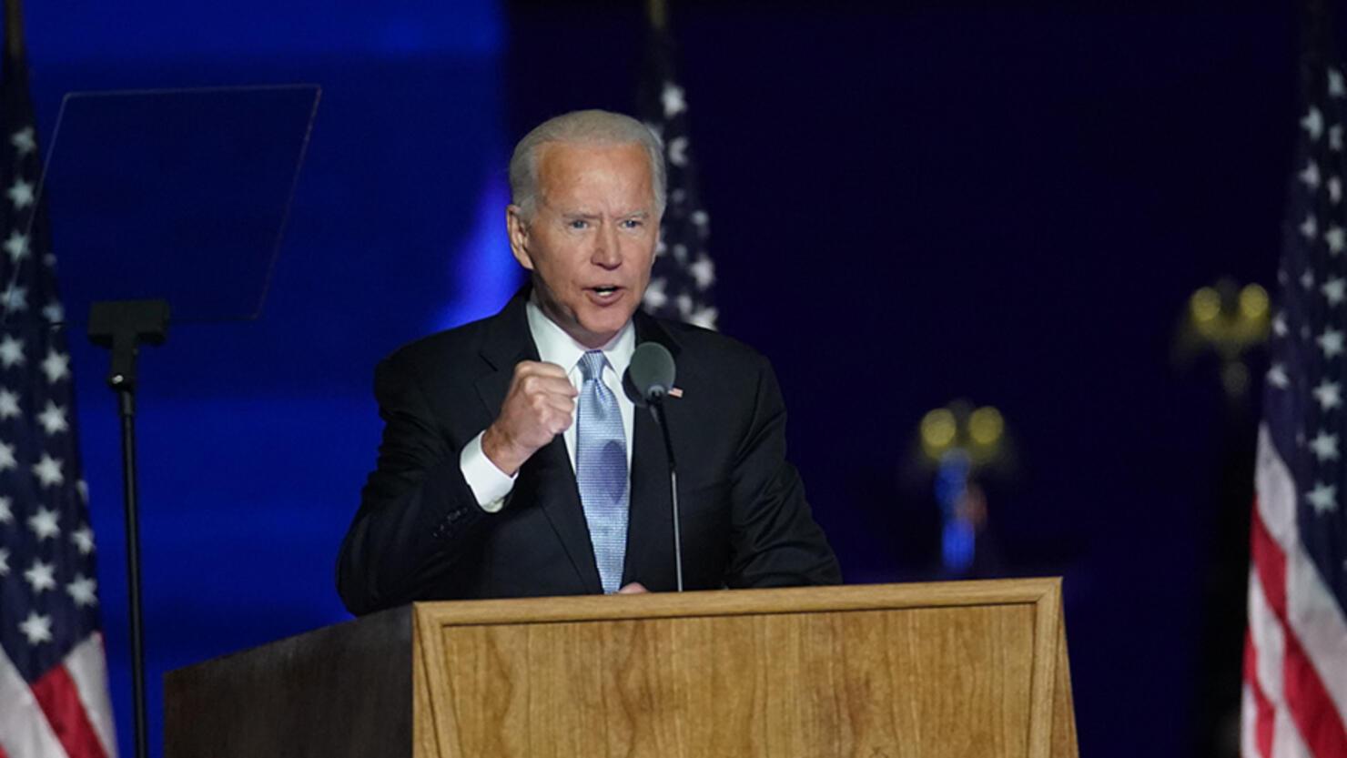 Joe Biden Delivers Remarks After Winning U.S. Presidency