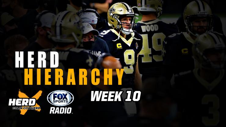 Colin Cowherd Ranks the Top 10 NFL Teams Heading Into Week 11