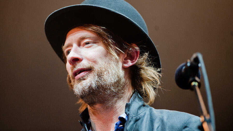 Radiohead Is Auctioning Off Thom Yorke's Iconic Bowler Hat For Charity
