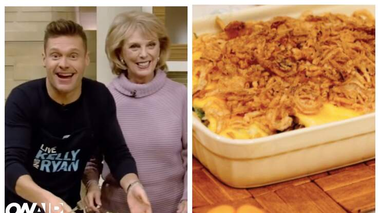Try Connie Seacrest's Thanksgiving Green Bean Casserole Recipe