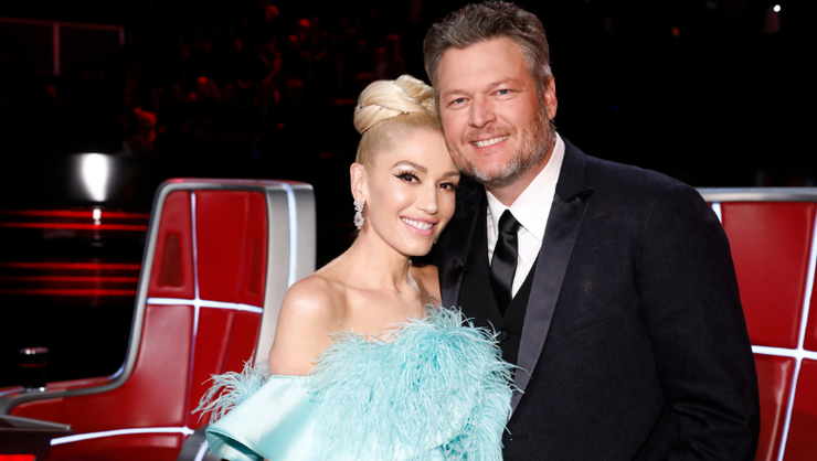 Blake Shelton, Gwen Stefani Celebrate First Thanksgiving As Engaged Couple