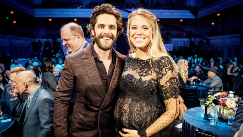 Thomas Rhett And Lauren Akins Celebrate Thanksgiving With Their 3 Daughters | iHeartRadio