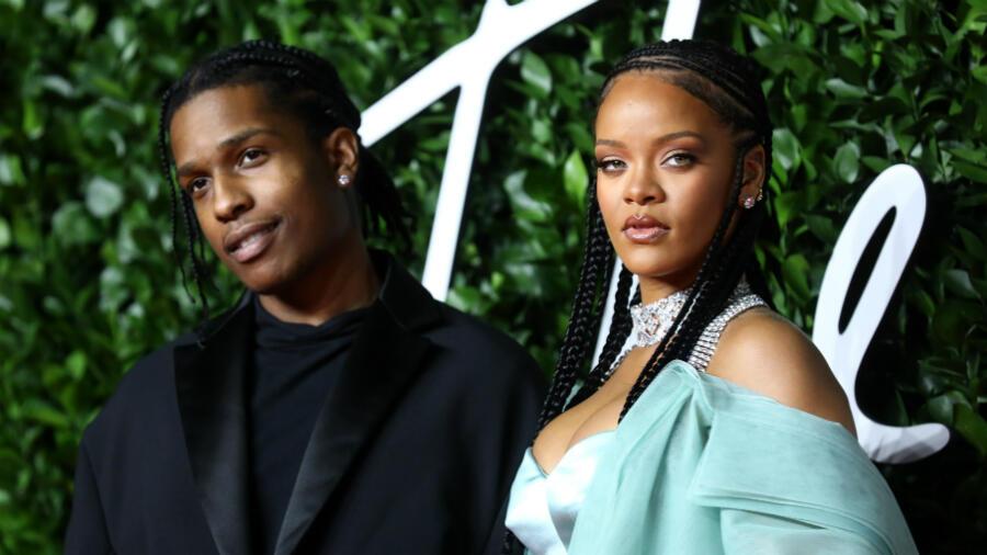 Rihanna & Rumored Boyfriend A$AP Rocky Enjoy Night Out In NYC