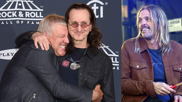 image for Foo Fighters' Taylor Hawkins Hopes Geddy Lee, Alex Lifeson Return To Music