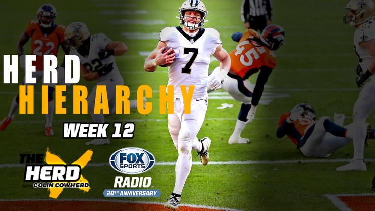 Colin Cowherd Ranks the Top 10 NFL Teams Heading Into Week 13