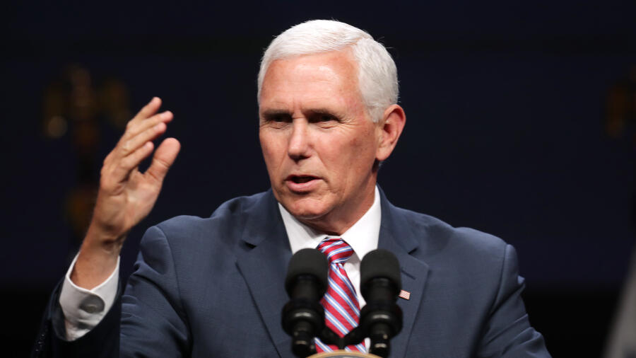 'Help Is On The Way': VP Mike Pence Discusses Vaccine With State Leaders   iHeartRadio