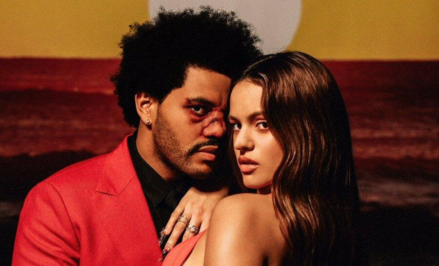 The Weeknd Recruits Rosalía For Seductive 'Blinding Lights' Remix