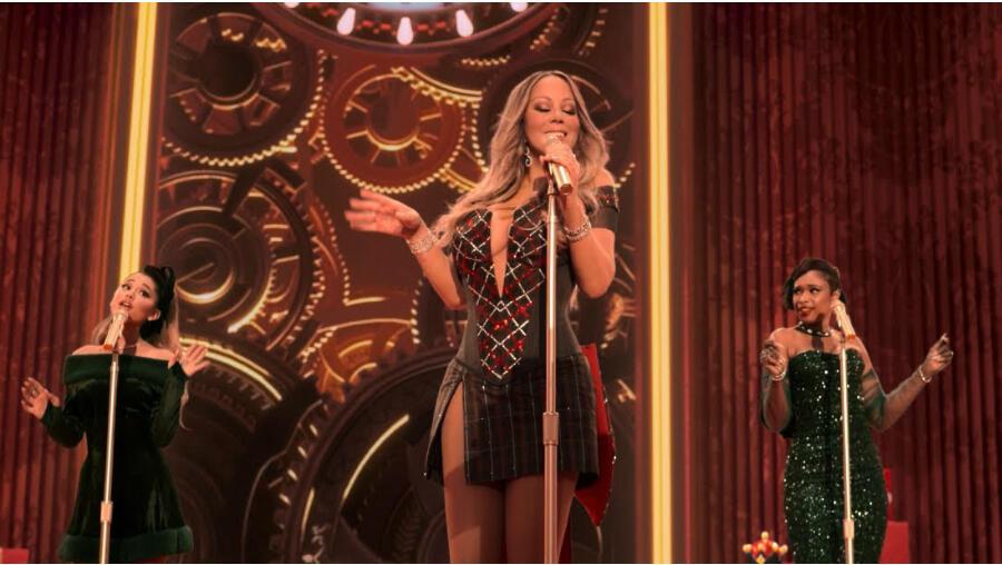 Mariah Carey, Ariana Grande & Jennifer Hudson Join Forces On 'Oh Santa!'