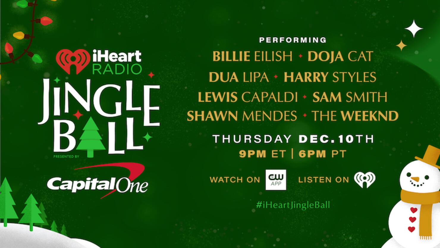 iHeartRadio Jingle Ball 2020: How To Watch | iHeartRadio
