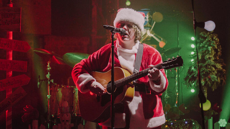 Lewis Capaldi's 'Last Christmas' Cover In A Santa Suit Is A Must-See