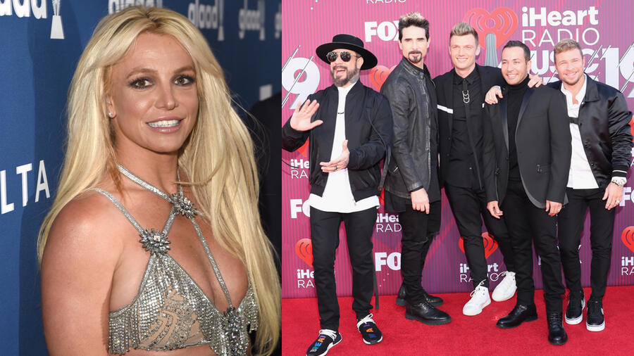Britney Spears & Backstreet Boys Strike Fire On Sexy New Song 'Matches'