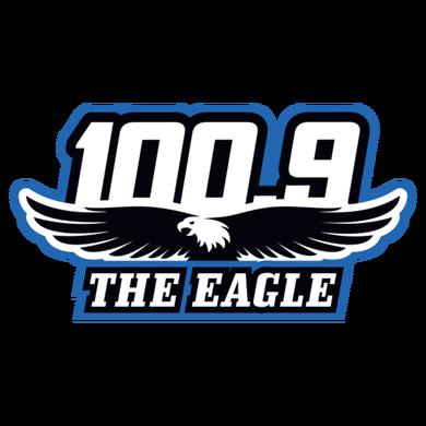 100.9 The Eagle logo