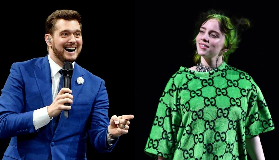 Michael Bublé Reacts To Billie Eilish Revealing He Inspired 'My Future'