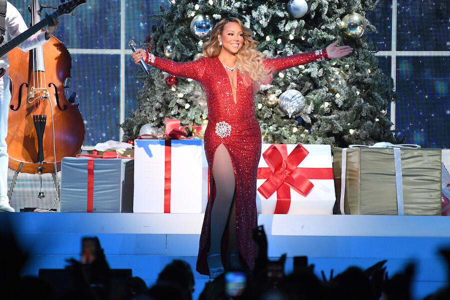 Queen of Christmas Mariah Carey Weighs In On Fan's Mariah Tree Ornament