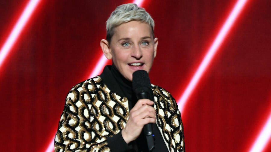 Ellen DeGeneres Spotted Mask-Less Amid COVID-19 Diagnosis