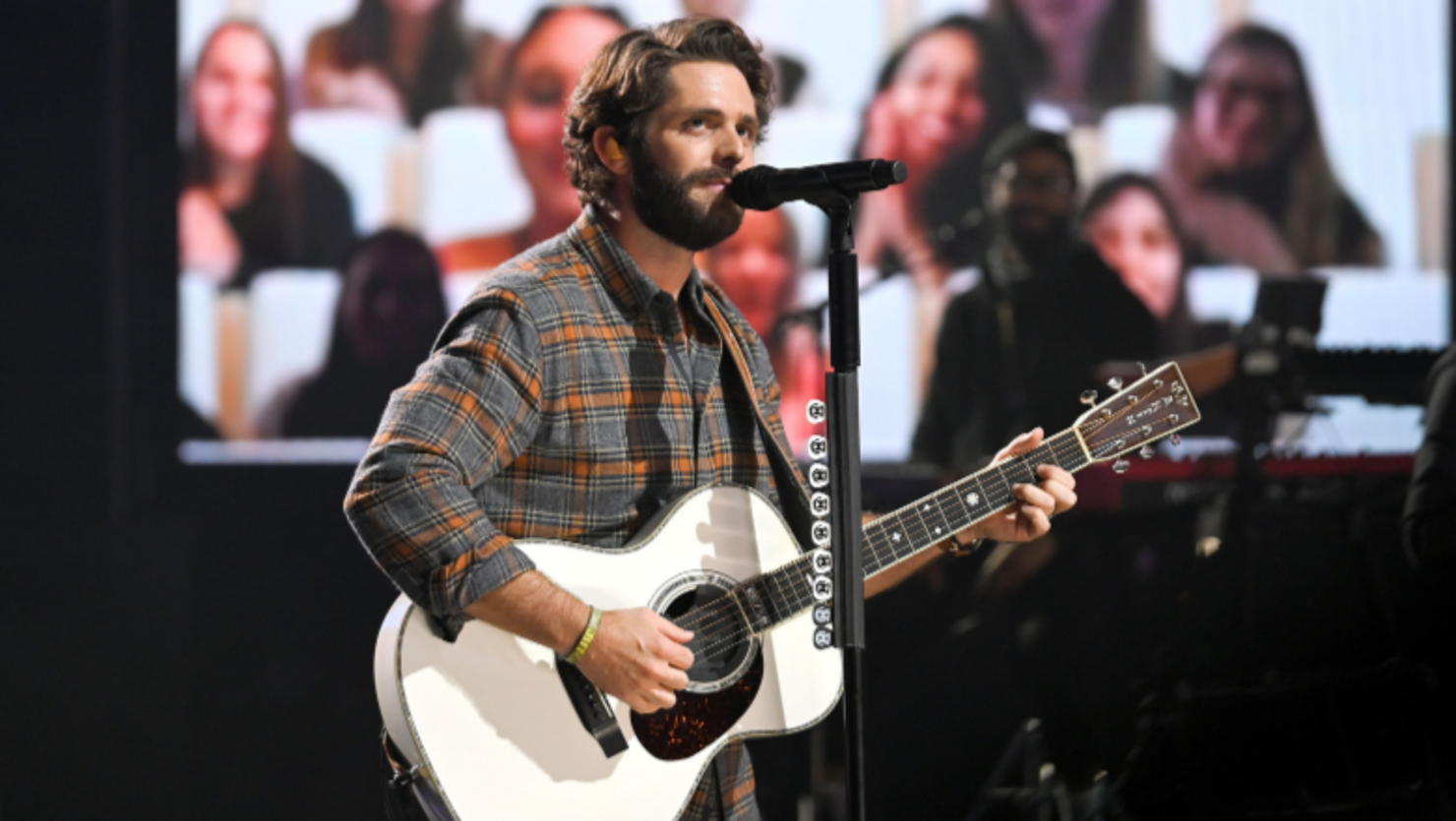 Thomas Rhett Wants To Remember To 'Slow Down' In 2021