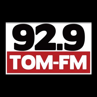 92.9 Tom FM logo