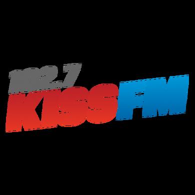 Kiss 102.7 logo