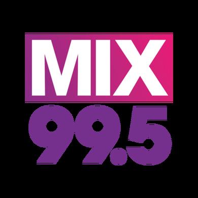 Mix 99.5 Triad logo
