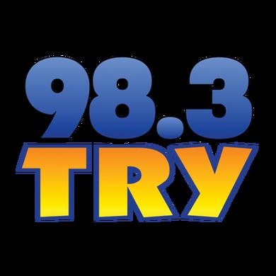 98.3 TRY Albany logo