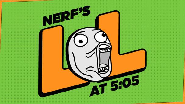 Nerf's LOL @ 5:05 - Throwback...2011 Robesity
