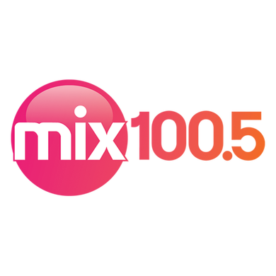 Mix 100.5 logo