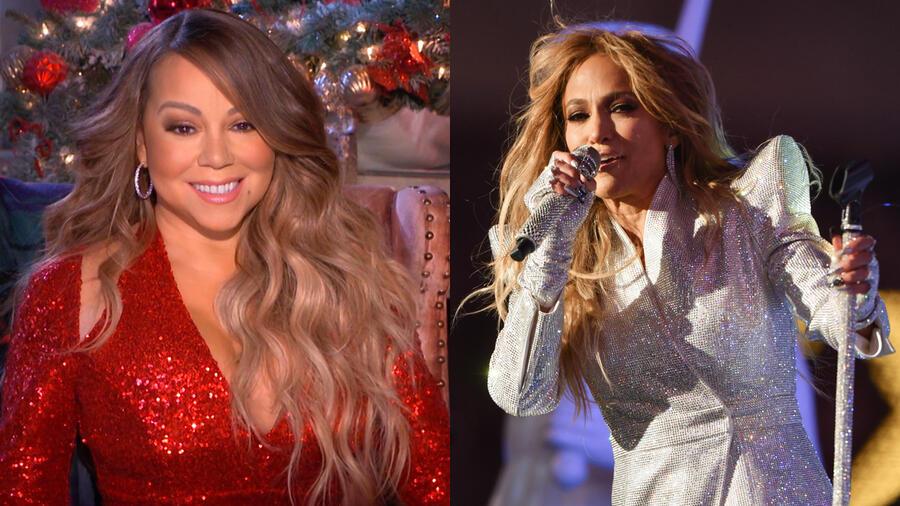 Watch Mariah Carey's Priceless Reaction To Jennifer Lopez's NYE Performance